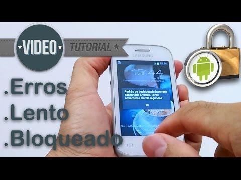Como Formatar Samsung Galaxy Young Plus TV GT-S6293T || Hard Reset, Desbloquear. G-Tech