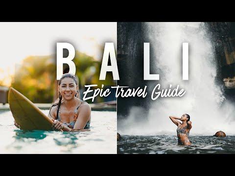 EPIC Bali Travel Diary: Surfing, Hidden Beaches Waterfalls, & Hiking!