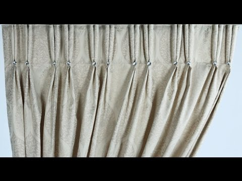 Two Pleat How To Make Double Pinch Curtains