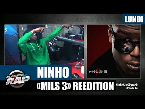 Youtube: Planète Rap – Ninho«MILS 3  Réédition» #Lundi