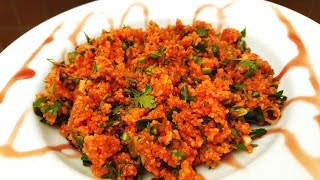 Fine Bulgur Salad
