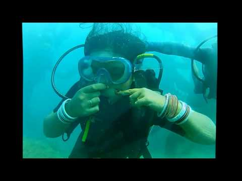 Scuba diving with Barefoot at Havelock,Andaman and Nicobar Islands,India