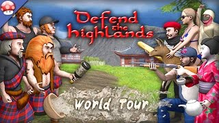 Defend the Highlands World Tour Gameplay PC HD [1080p 60fps] Steam Early Access Game Preview
