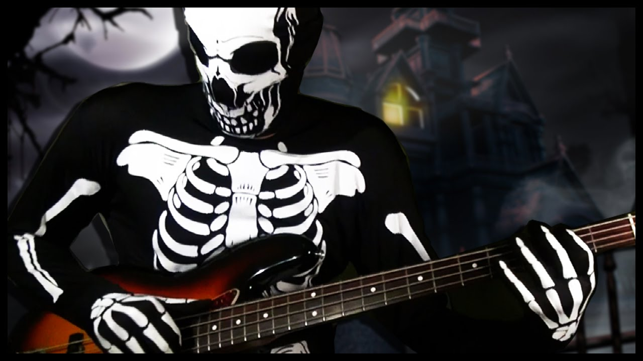 Spooky Scary Skeletons Meets Bass Chords Chordify