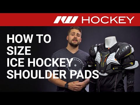 How To Size Ice Hockey Shoulder Pads