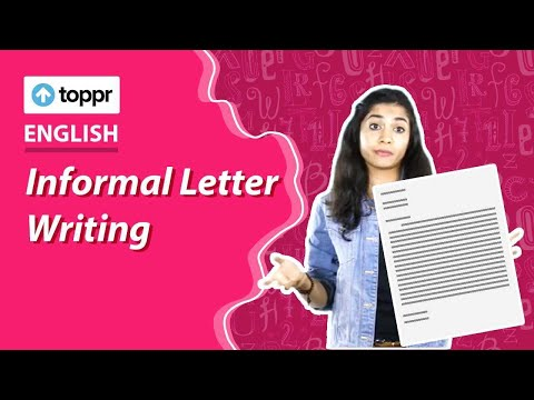 Class 10 English Informal Letter Writing Writing Cbse Ncert