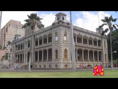 Iolani Palace: Hawaii Five-0 TV Series Police Headquarters