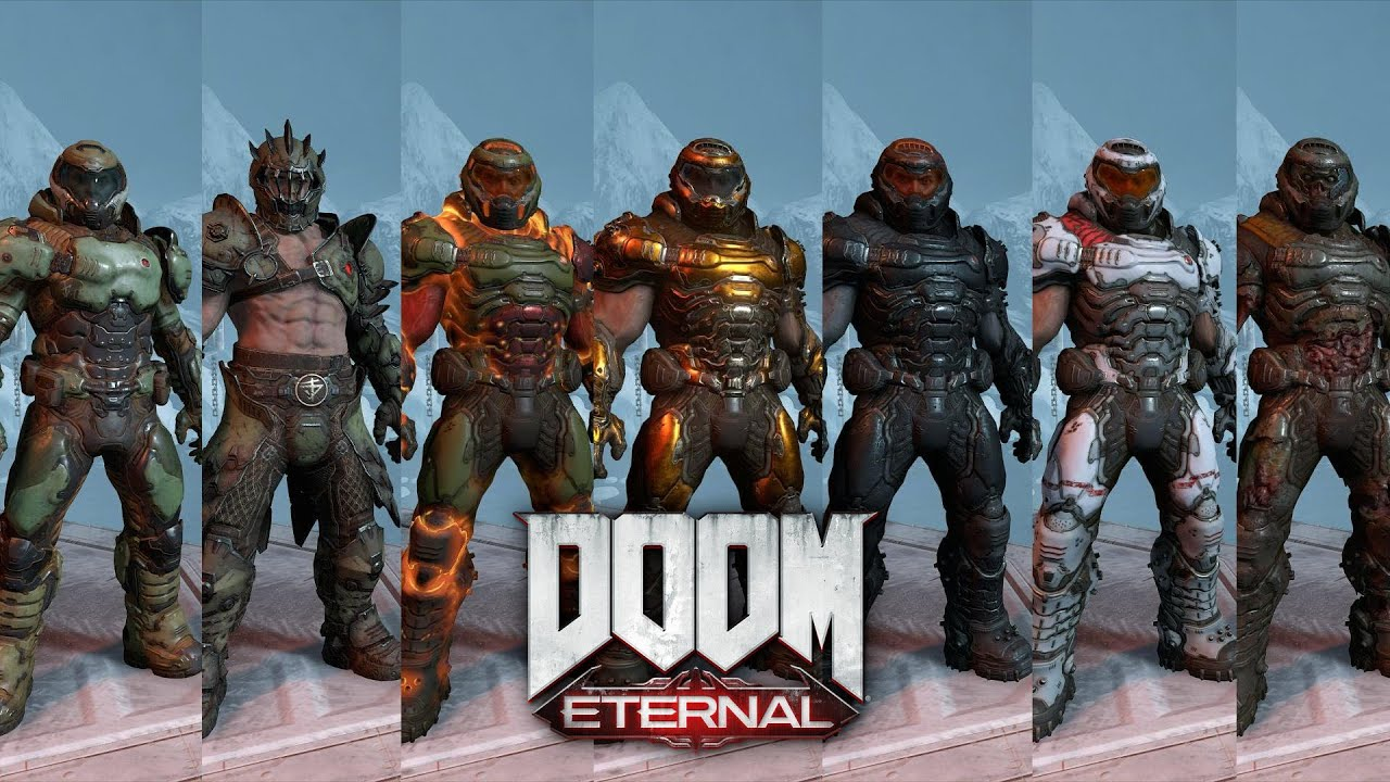 Doom Eternal Slayer Armor Skins And How To Get Them Cinematic