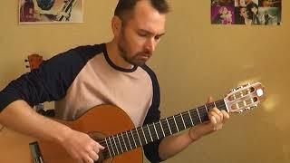 """""""Двое не спят"""" - Сплин (соло кавер на гитаре В.Трощинков) уроки гитары Киев и Скайп"""
