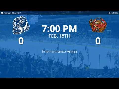 Mississauga Steelheads vs. Erie Otters (2/18/2017)