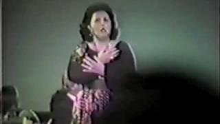 "Virginia Zeani Live -  ""Ritorna vincitor"" - Aida"