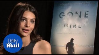 Emily Ratajkowski talks Gone Girl & Robin Thicke music video - Daily Mail