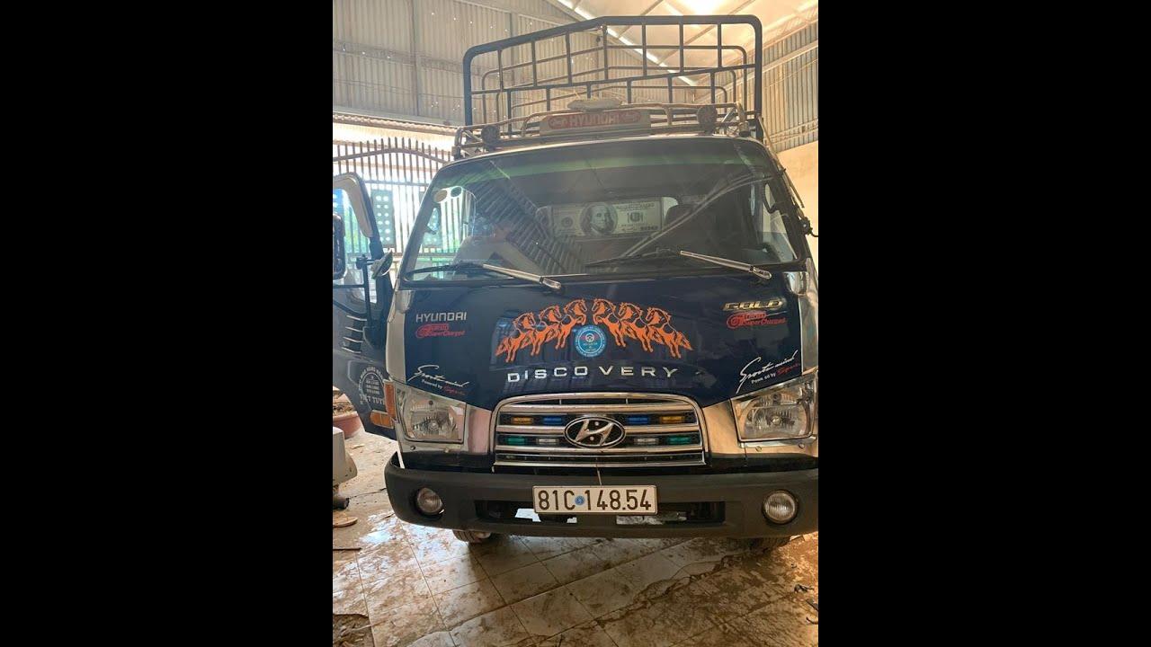 Bán xe tải thùng cũ Huyndai HD72 2013 xe tại Đaklak alo SĐT trong video