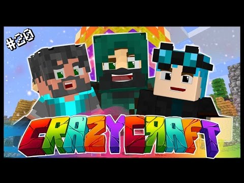 MORE CRAZY GOOD LUCK!? | Ep 20 | Minecraft Crazy Craft 3.0