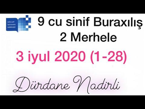 9-cu sinif buraxılış  Azərbaycan dili sualları izahı 🔈