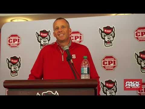 Dave Doeren Press Conference ahead of Clemson