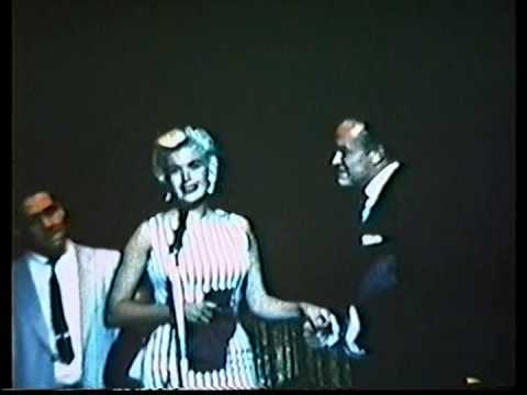 Bob Hope Hosts the 1958 Rose Bowl Party - OSU Tackle Ron Cook Kisses Jayne Mansfield!!!