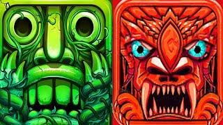 Temple Run 2 Sky Summit VS Temple Jungle Run Oz Android Gameplay HD