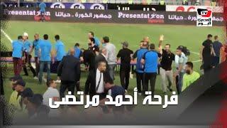 فرحة جنونية لأحمد مرتضى منصور عقب تتويج الزمالك بكأس مصر