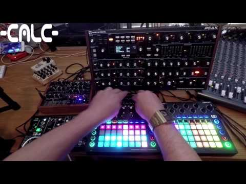 Novation Circuit Mono Station and Novation Peak jam