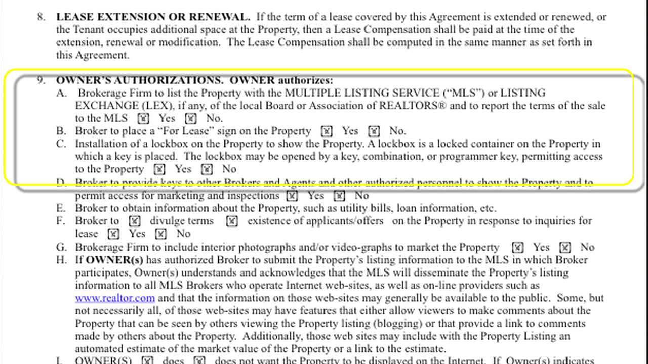 Ranm Residential Lease Listing Agreement Youtube