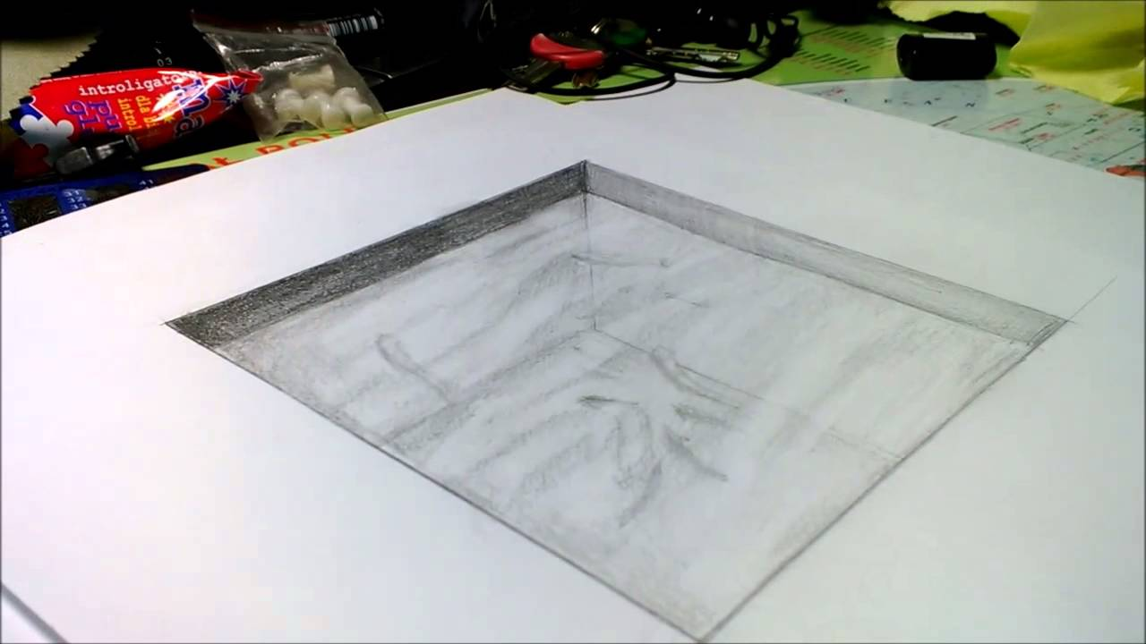 Amazing Anamorphic 3d Illusion Water Pool Drawing Youtube