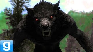 SCARY WEREWOLVES!! - Gmod Werewolf Horror Mod (Garry