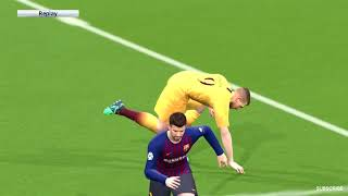 FC Barcelona vs AS Roma   International Champions Cup  2018 Gameplay