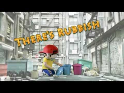 Where have you been - Rihanna Parody (Put rubbish in the bin)