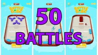 Battle Disk - Gameplay | 50 Levels
