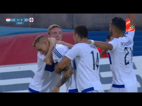 Luxembourg 1 - 0 Georgia (05.06.2018 // by LTV)