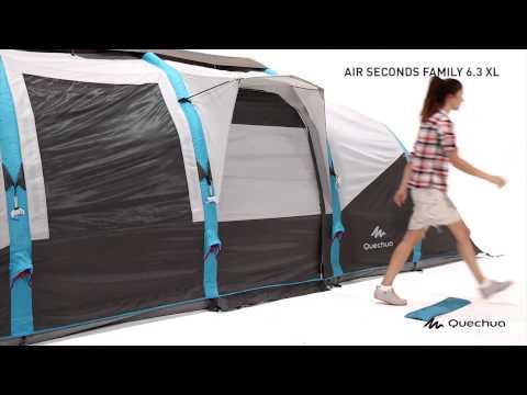 Quechua   TENTE AIR SECONDS FAMILY 6 3XL   Montage