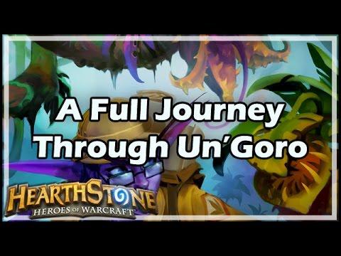 [Hearthstone] A Full Journey Through Un'Goro