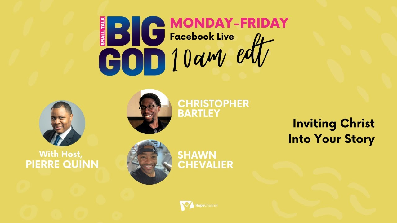 Inviting Christ Into Your Story [Small Talk, Big God Ep. 50]