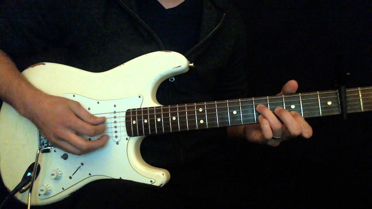 Sovereign Chris Tomlin Lead Guitar Tutorial Youtube