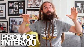 "Promoe-intervju om ""Fult folk"", Sahara Marathon & skandinavisk rap.   YLTV"