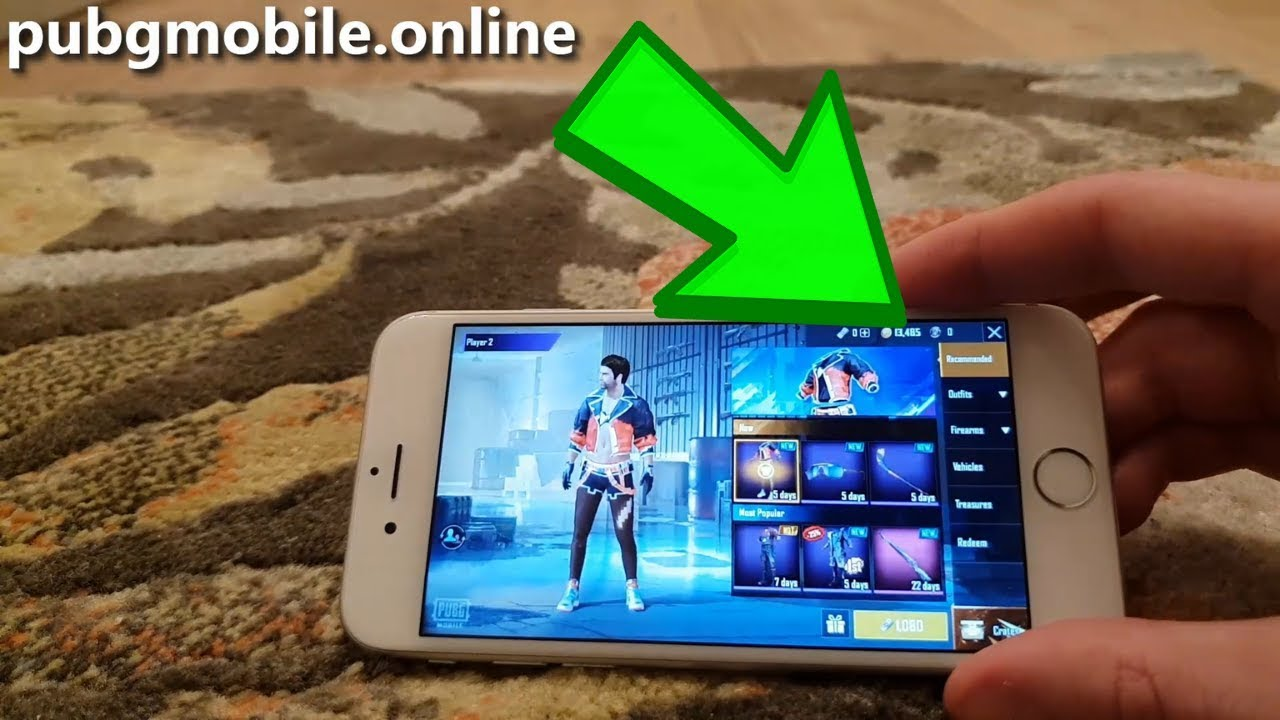 PUBG Mobile Hack 2019 - Free UC and Battle Points on iOS & Android [PUBG  Cheats]