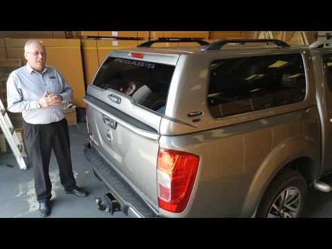 Nissan NP300 Classic Hardtop Canopy with Central locking