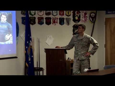 Detachment 027 First Day Briefing 2013