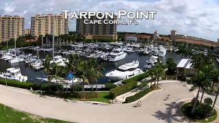 Tarpon Point Marina Cape Coral FL | A Drones Eye View | Watch Now