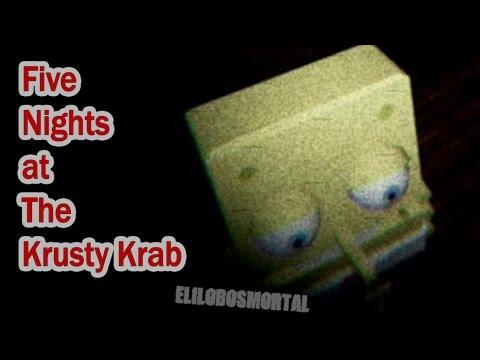 Five Nights at The Krusty Krab   DEMO   GAMEPLAY   BOB ESPONJA CON FIVE NIGHTS AT FREDDY´S