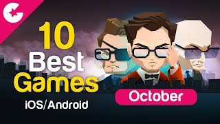 Top 10 Best Android/iOS Games - Free Games 2017 (October)