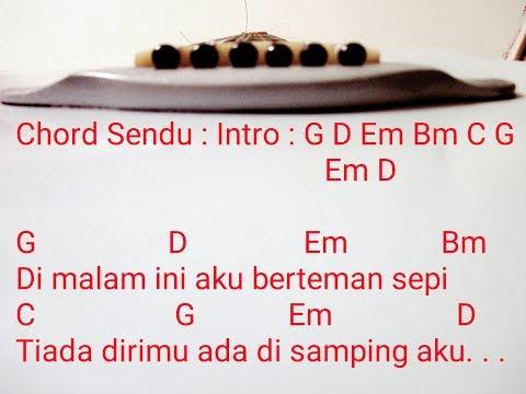 Kunci Gitar Sendu ~BAGINDAS~ Chord Gitar Sendu