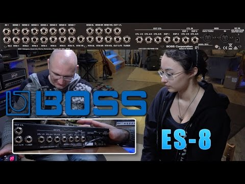 Boss Es 8 Effects Switching System Product Demo Doovi