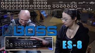 BOSS ES-8 Tutorials - Intro and Overview