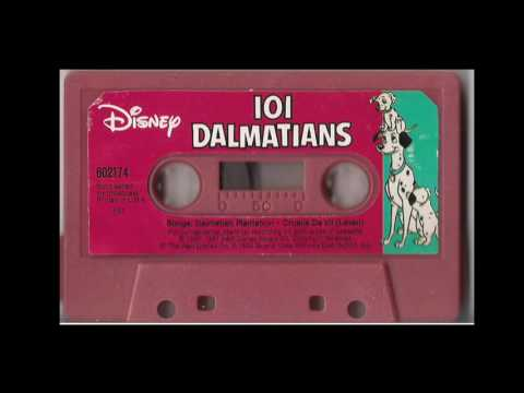 Disney's 101 Dalmations Cassette Tape