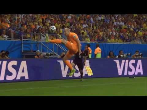 Under control Arjen Robben, World Cup 2014