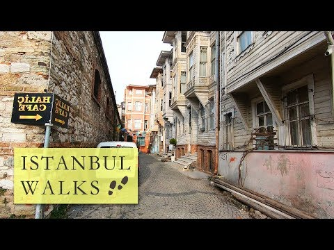 Walking in Istanbul from SÜLEYMANIYE MOSQUE to the GOLDEN HORN | Historical Walking Tour.