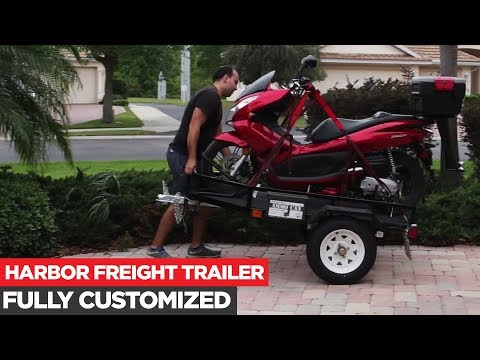 Heavily Modified $239 Dollar TRAILER (Deck, Rails, and Ramp)
