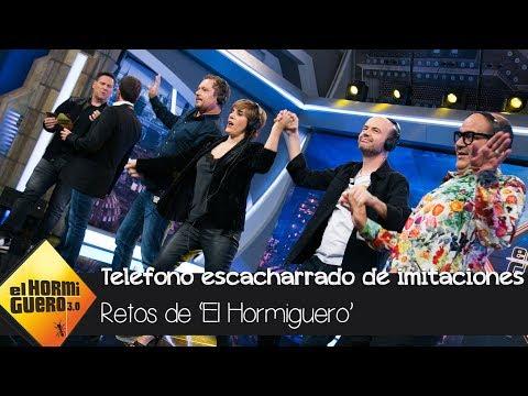 Carlos Latre hace llorar de la risa a todos con el 'teléfono escacharrado' - El Hormiguero 3.0